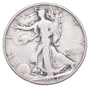 Better 1937-D - US Walking Liberty 90% Silver Half Dollar Coin Set Break *545