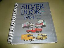 1984 Chevrolet Salesperson's Selling Guide Silver Bookk for Trucks