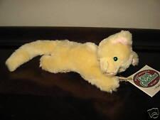 Ganz Cottage Collectibles Kitty Cat ~ Punkin ~ MWT Light Orange Stuffed Plush