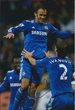 Branislav IVANOVIC Signed Autograph 12x8 Photo AFTAL COA Chelsea Sebia