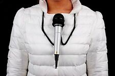 A011 Close-Up Magic Stage Prop Microphone Hands Free Brace Mic Holder Neck Stand