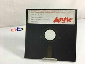 Atari Antic Sampling Processor Volume 8 Number 8 Feb March 1990
