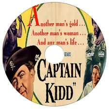 CAPTAIN KIDD  - Charles Laughton, Randolph Scott - Pirate Adventure - 1945 - DVD