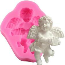 3D Silicone Mold Angel Cupid Cake Mould DIY Decorating Chocolate Silikonform