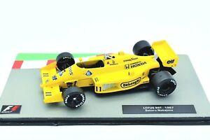 Lotus 99T Formule 1 F1 auto 1/43 Gp miniature voiture diecast IXO Véhicules 99