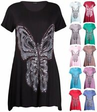 Viscose Tunic Tops & Blouses Stretch for Women