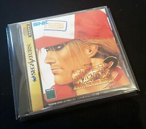 [ SAT ] FATAL FURY 3 - SNK 2D Neo Geo Fighting - Sega Saturn JAPAN
