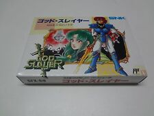 God Slayer Nintendo Famicom Japan NEW
