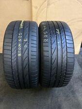 225 40 R 18 88W Bridgestoen Potenza Re050A 1 * RSC Run Flat 2x Tyres 2254018
