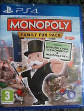 Monopoly FAMILY FUN PACK PS4 Nuevo Monopoly Plus My Monopoly,Deal en castellano