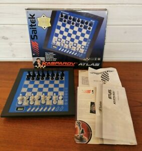 Saitek Kasparov Atlas Electronic Desktop Learn Chess Set - unused Fully Working