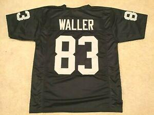 UNSIGNED CUSTOM Sewn Stitched Darren Waller Black Jersey - M, L, XL, 2XL