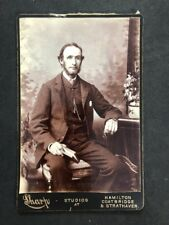 Victorian Photo: Cabinet Card: Sharp: Thin Gentleman Beard