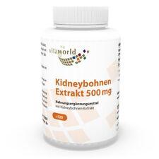Kidney Bohnen Extrakt 500mg 120 Kapseln mit Phaseolin Kohlenhydratblocker