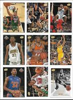 """2008-09 UPPER DECK BASKETBALL """"ELECTRIC COURT"""" PARALLELS - 18 CARD LOT"""