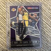 2020-21 NBA Hoops Anthony Davis Lights Camera Action #20 Los Angeles Lakers READ