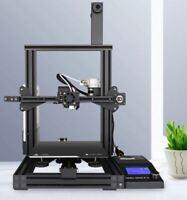 3D Printers DIY Kit Full Metal Large Printing Touch Screen LCD Filaments SD US