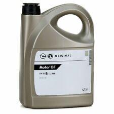 Olio Motore Originale GM OPEL 5w30 Dexos1 Gen2 Acea C3 API SN/RC 5 Lt 5 Litro