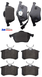 FOR AUDI TT 1.8T + QUATTRO (1998-2006) FRONT AND REAR BRAKE PADS SET NEW