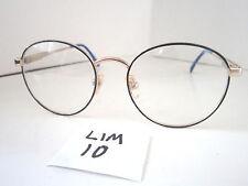 Vintage 1980s Sun/Eyeglasses Frame #Pinecrest Blue Demi Gold (Lim-10)