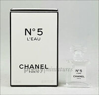 ღ No 5 L'eau - Chanel - Miniatur EDT 1,5ml ***Brandneu 2016***