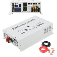 12V to 120V 2500W Car DC to AC Pure Sine Wave Power Inverter off Grid Converter