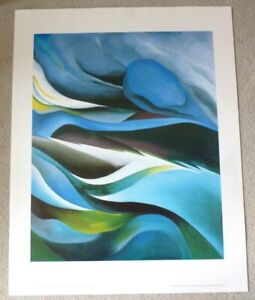 GEORGIA O'KEEFFE From The Lake Number 1   ART POSTER PRINT