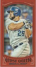 2016 Topps Gypsy Queen Mini Red #278 Kendrys Morales Ser #'d 4/5  Royals