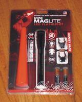 MAGLITE AA MiniMaglite SAFETY PACK 2-AA LED Flashlight Maglight