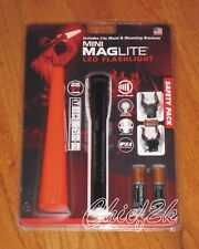 MAGLITE AA MiniMaglite SAFETY PACK 2-AA LED Flashlight Maglight