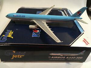 1/400 Gemini Jets Korean Air Airbus A330-323X HL7754 Sky Team Logo ID# GJKAL661.
