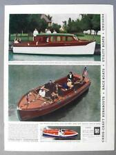 Original 1937 Chris-Craft Boat Ad Cruisers Up to 40 Ft, 24 Ft Sportsman & Racer