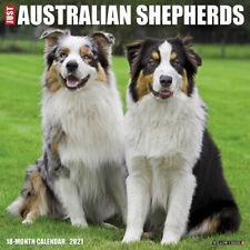 Just Australian Shepherd (dog breed calendar) 2021 Wall Calendar (Free Shipping)