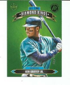 2020 PANINI DIAMOND KINGS BASEBALL KEN GRIFFEY, JR. 1 OF 1 MASTERPIECE #ATDK-10