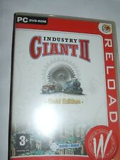 Industry Giant II Gold Edition PC GAME Windows 98/ 2000 / ME / XP / VISTA