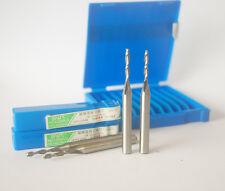 5Pcs Extra Long(60mm) 2mm 2 Flute HSS & Aluminium End Mill Cutter CNC Bit