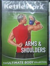NEW Kettle Worx DVD [R2] Arms & Shoulders / Ultimate Body / Fitness FREE P&P