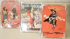 Vintage Theater Mini Posters Set of 3 in Frames