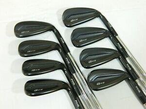 Ping G710 Black dot irons 5-SW AWT 2.0 Lite Regular iron set G 710 5-PW+UW+SW