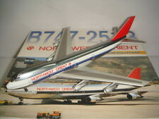"Dragon Wings 400 Northwest Orient Airline B747-200B ""1980s color - Polish"" 1:400"