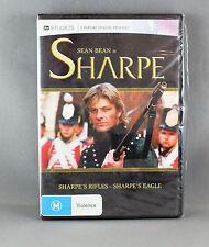SHARPE'S RIFLES / EAGLES DVD R4 BRAND NEW/SEALED STARRING: SEAN BEAN