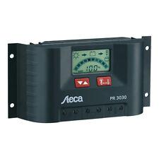 Steca PR 3030 - 12V/24V - Régulateur de charge 30A Solaire avec lcd affichage