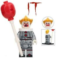 PENNYWISE THE CLOWN FROM IT MINI FIGURE-BRAND NEW-ASSEMBLED W//BALLOON AND STAND