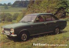 Ford Escort Mk 1 Standard L XL Sport GT Estate 1972-73 Original UK Brochure