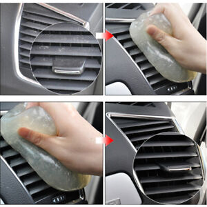 Auto Car Clean Glue Gum Gel Cleaning Air Outlet Vent Dashboard Interior Cleaner
