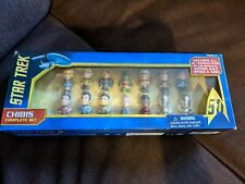 More details for chibis star trek 50th anniversary complete mini collectable figure set.