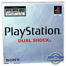PS1 Console Box Protector for PSX PlaySation 1 STRONG 0.5mm Plastic Display Case