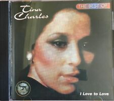 Tina Charles - The Best Of  : I Love To Love  - USA  Import  17 Track 1994 CD.