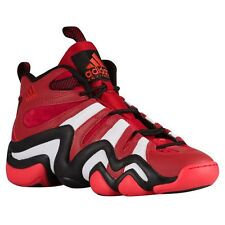 Adidas Crazy 8 Men's Basketball Shoes G20784 Red / White / Black - Size 10