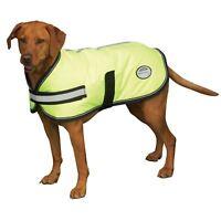 Weatherbeeta Reflective Hi Vis Parka 300D Dernier Dog Coat Waterproof Breathable